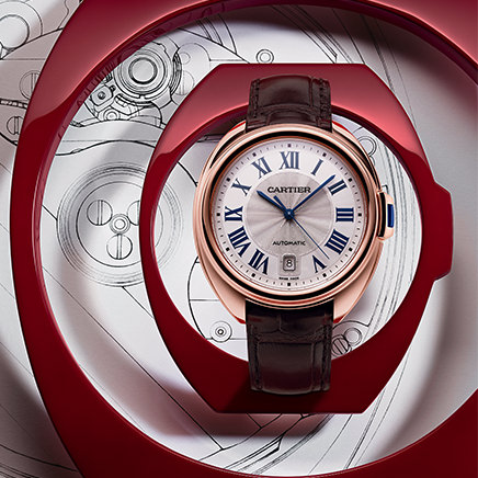 Mazarine highlights the beauty of Cartier watch design