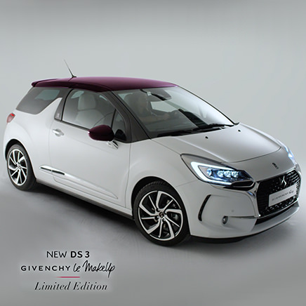 DS Automobile launches its new DS 3 Givenchy with Mazarine