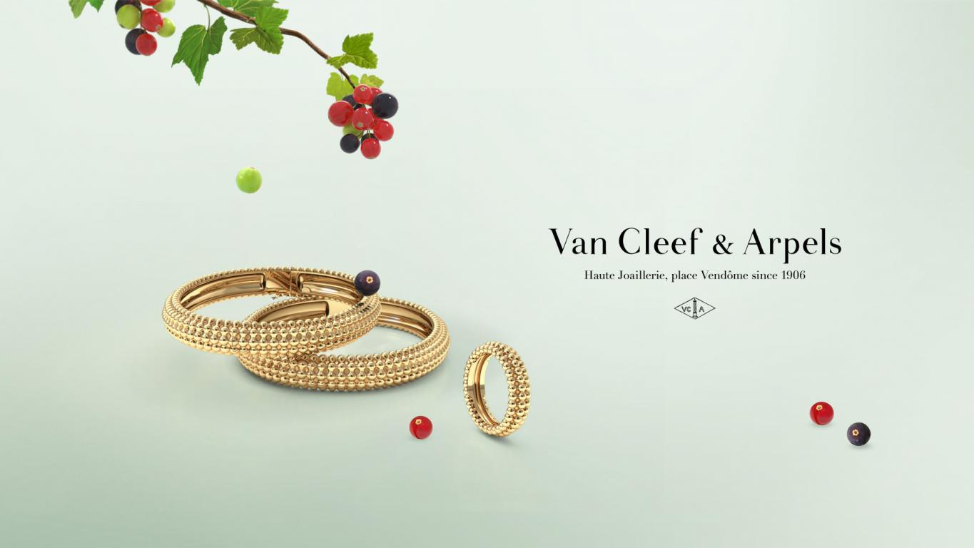 Perlée by Van Cleef & Arpels celebrates its joyful spirit online