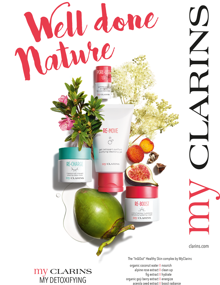 My Clarins Mazarine Team Up With Clarins For The Launch Of Its New