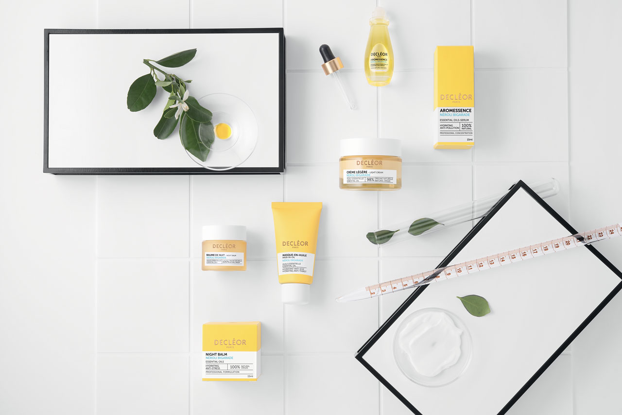 New range of Decleor products.