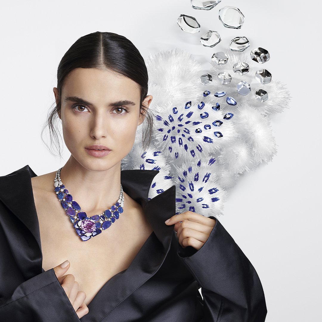 Campaign for the High Jewelry Surnaturel de Cartier collection
