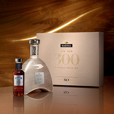 Martell celebrates its 300th anniversary