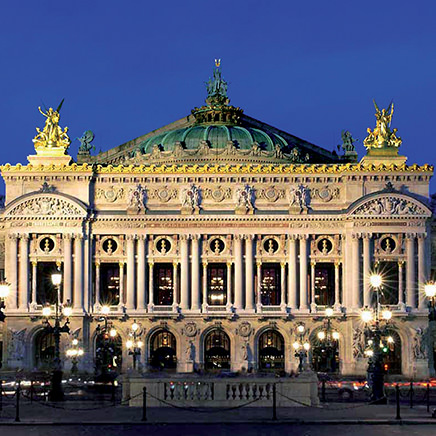 Opéra Garnier and Bastille