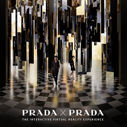 Prada Fragrances launches its first virtual reality experience